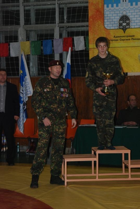 Владимир Андреев с призом памяти Владимира Турчинского