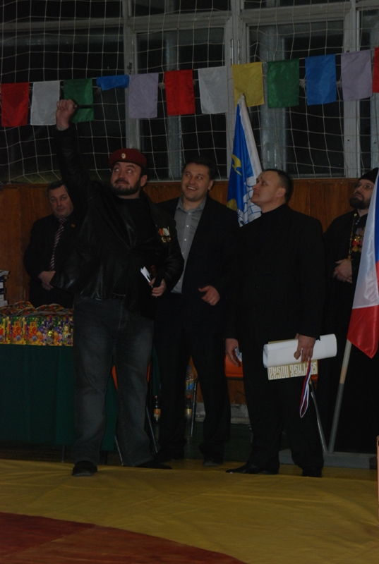 Специальный приз лучшему тренеру В.А. Доброву
